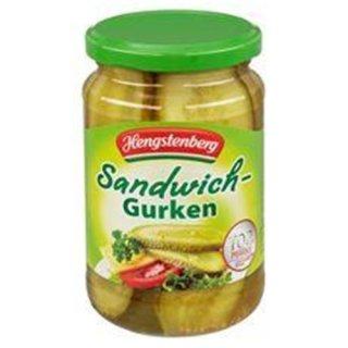 Hengstenberg sandwich cucumbers