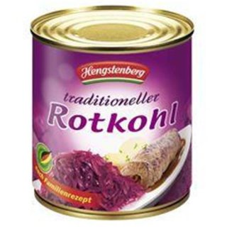 Hengstenberg Mildessa Rotkohl 580 ml