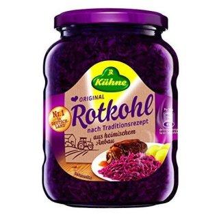 Kuehne red cabbage 700 GR