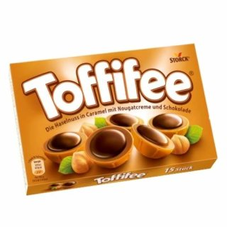 Toffifee -  Chocolate Pralines With Caramel Filling And A Whole Hazelnut