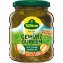 Kühne pickled cucumbers selection