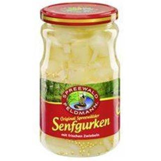 Spreewald Feldmann Real Spreewald mustard cucumbers