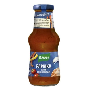 Knorr Paprika Sauce (Zigeuner Sauce)