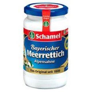 Schamel alpine cream horseradish 340g