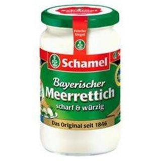 Schamel Bavarian horseradish 340g