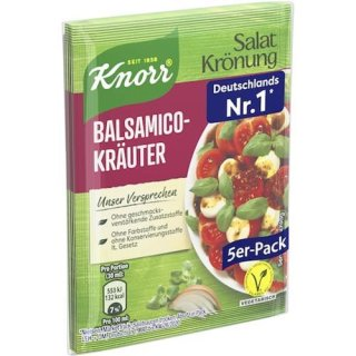 Knorr Salat Krönung Balsamico Kräuter