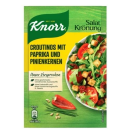 Knorr Salatkrönung croutinos with peppers and pine nuts