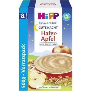 "HiPP BIO milk porridge good night ""oat apple"""