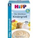 HiPP BIO milk pudding childrens semolina