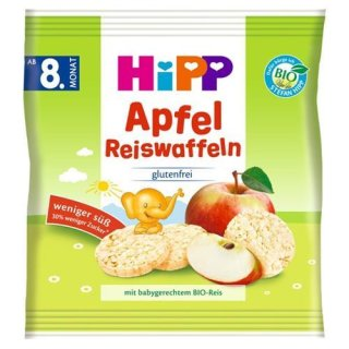HiPP BIO apple rice waffles