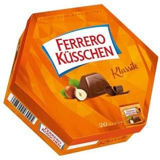 Ferrero Küsschen - German Pralines With Hazelnut - Top Chocolate
