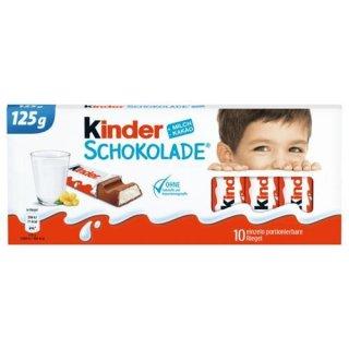 Kinder Schokolade - Deutsche Kinderschokolade - Süßigkeiten aus Deutschland (100g)