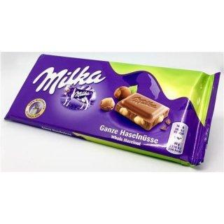 Milka Ganze Haselnuss | Köstliche Deutsche Schokolade Mit Haselnuss