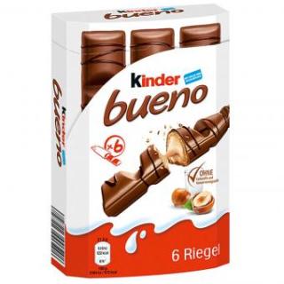 Kinder Bueno 6 Box - Waffles With German Chocolate