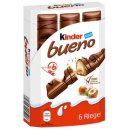 Kinder Bueno 6er Boxl | Waffeln mit deutscher Schokolade