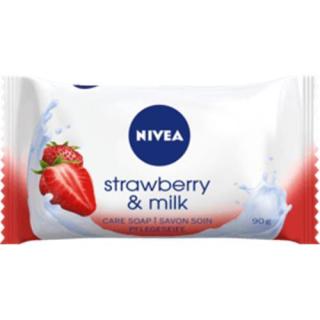 NIVEA Seifenstück Strawberry&Milk