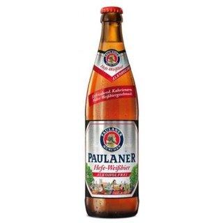 Paulaner Hefe Weißbier alkoholfrei Flasche