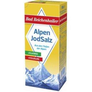 Alpen Jod Salz +fluorid/folsäure 500g