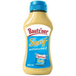 Bautzner Senf mittelscharf  300ml