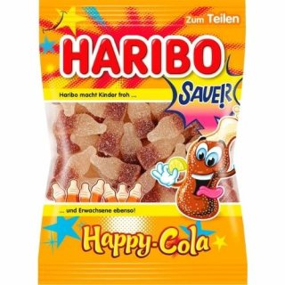 Haribo FIZZ Sauer Happy Cola