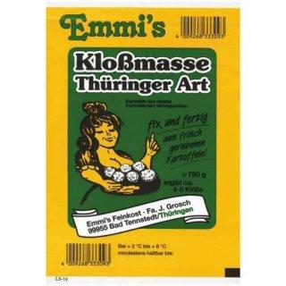 Emmis Kloßmasse Thüringer Art 750g
