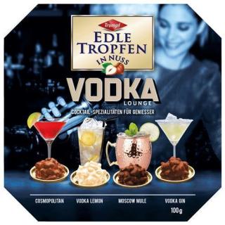 Edle Tropfen in Nuss Vodka Lounge