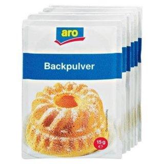 Aro Backpulver 6 Stück á 15 g 90 g