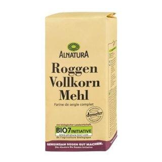 Alnatura Bio Roggenvollkorn Mehl