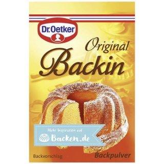 Dr. Oetker backin baking powder 10 pieces á 16 g 160 g pack