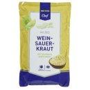 Mildes Wein-Sauerkraut 500g
