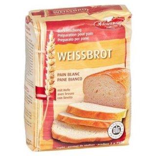 Küchenmeister Baking mix White bread 1 kg pack