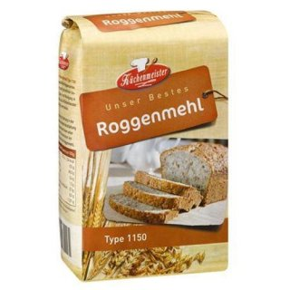Küchenmeister Roggenmehl Type 1150