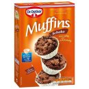Dr. Oetker baking mix muffins choco with chocolate chips...