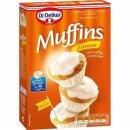 Dr. Oetker Muffins Zitrone mit Glasur 415 g