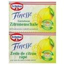 Dr. Oetker Finesse Grated lemon zest with grape sugar, 2...