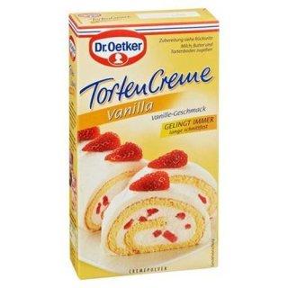 Dr. Oetker cake cream vanilla cream powder for cake cream vanilla flavor 150 g pack