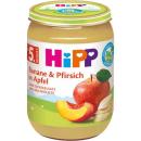 HiPP Banane und Pfirsich in Apfel (190g)
