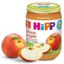 HiPP Pfirsich in Apfel (190g)