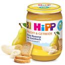 HiPP Frucht & Getreide Birne-Banane mit Zwieback (190g)