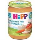 HiPP Gemüsereis mit Bio-Hühnchen (190g)