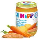 HiPP Früh-Karotten mit Kartoffeln und Wildlachs (190g)