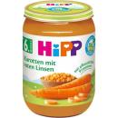 HiPP Karotten mit roten Linsen (190g)