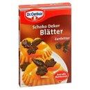 Dr. Oetker chocolate decor leaves dark chocolate 60 g box