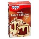 Dr. Oetker Schoko Zebra Röllchen 75 g
