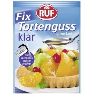 RUF cakes glaze clear 3 pieces á 36 g 108 g