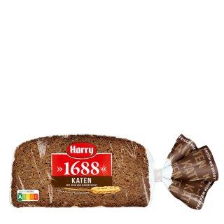 Harry The full grain cakes cut, hearty, dark and fine rye wholemeal bread 500 g bag