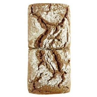 BIO Rye twin mixed rye bread 42% rye, easily divisible into two potrions 800 g
