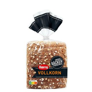 Harry wholegrain bread freshly made, cut 500 g bag