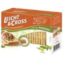 Light & Cross Crispbread Rye ready to eat, cut, from...