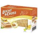 Light & Cross Crispbread wheat 125 g box